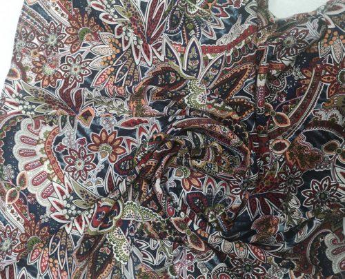 Paisley Print Georgette