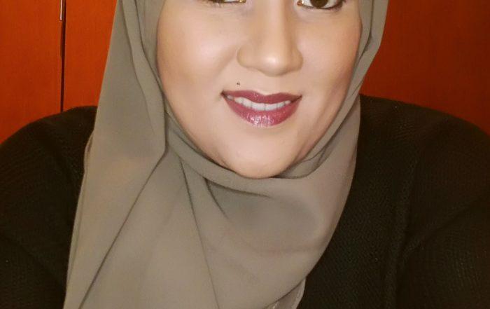 Georgette Hijab Tutorial