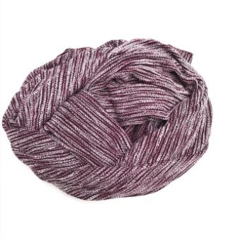 Burgundy Melange Knit
