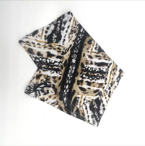 Mixed Animal Safari Print Underscarf
